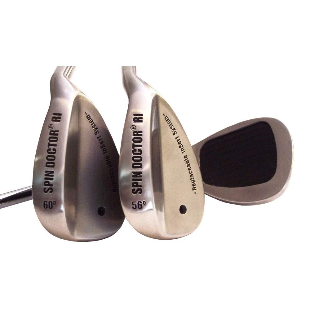 New Spin Doctor RI 52/60 Degree Pitching/Lob Golf Wedges - Steel - Right by Spin Doctor