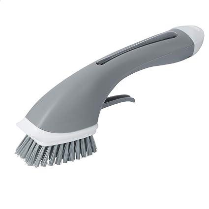 GLQ Recarga líquido Mango Largo Cepillo de Limpieza hogar Cepillo de Cocina Fregadero de la Estufa