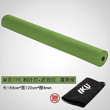 YOOMATAmpliación 120cm Doble Esterilla de Yoga 8mm el ...