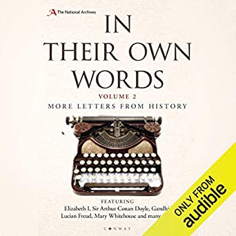 In Their Own Words 2: More Letters from History (Audio Download