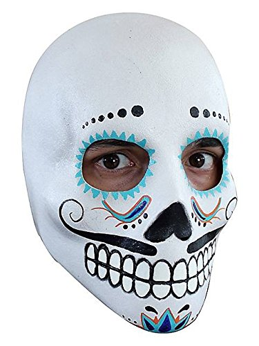 Day of the Dead Catrin Deluxe Mask (Day Of The Dead Mask For Sale)