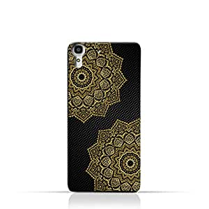AMC Design Vintage Mandala 1201 Printed Case for Huawei Y6 - Black & Yellow