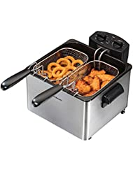 Hamilton Beach 35034 Double Basket Deep Fryer, Professional Grade