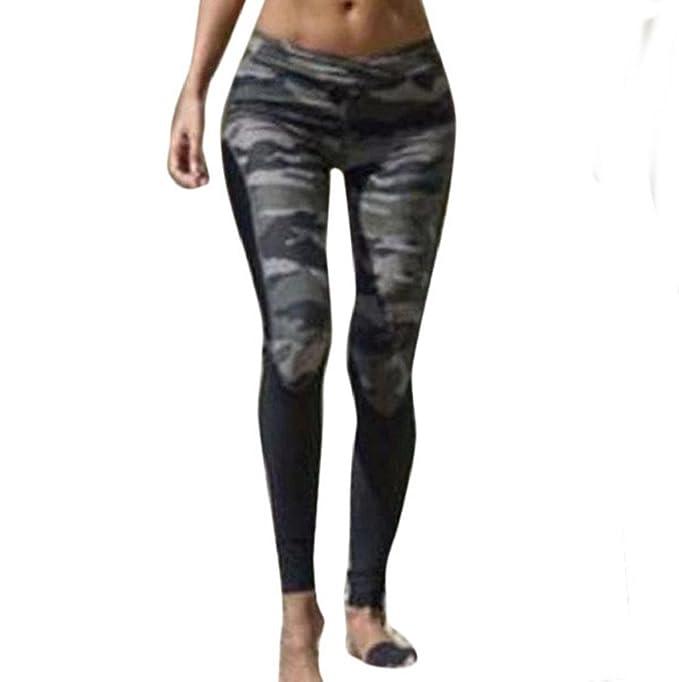 Sannysis pantalón Chandal Mujer Yoga pantalón Mujer Runing ...