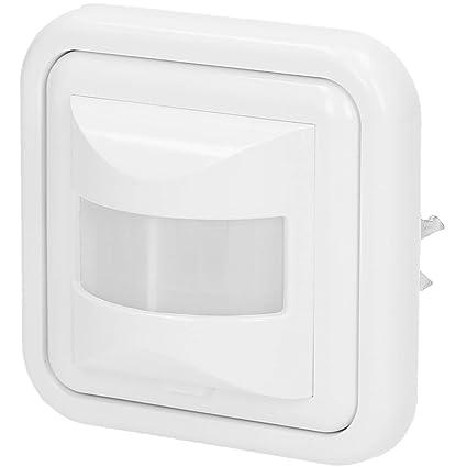 500 W sensor de movimiento LED de pared luz con integrado infrarrojos empotrar), color