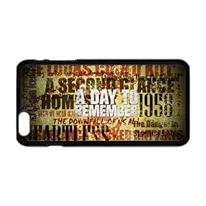 Laser A day to Remember iPhone 6 Plus 5.5 Inch Back TPU and Plastic Case Cover
