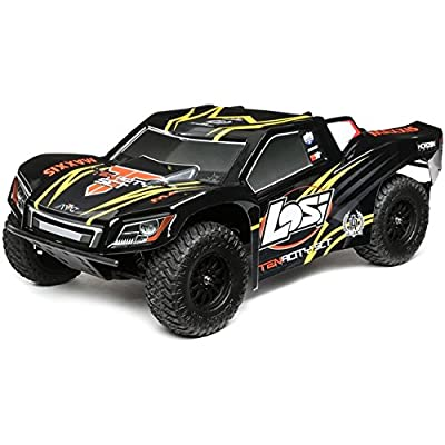 Team Losi 1/10 Tenacity 4WD SCT RTR Black/Yellow Short Course Truck