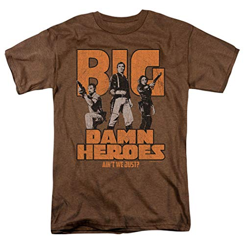 Firefly Serenity Big Damn Heroes TV Show Heather T Shirt & Stickers (Small)