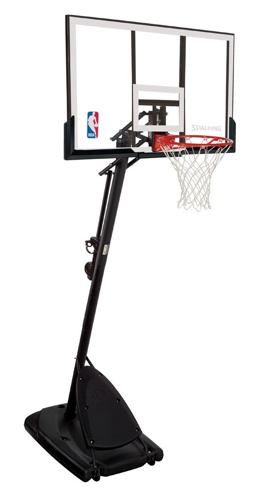 Spalding 66291 Pro Slam Portable Basketball System with 54-Inch Acrylic Backboard by Spalding