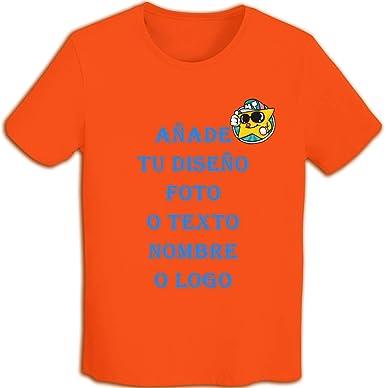 Hombre Camiseta de Algodón con Estampado, diseña Tus propias ...