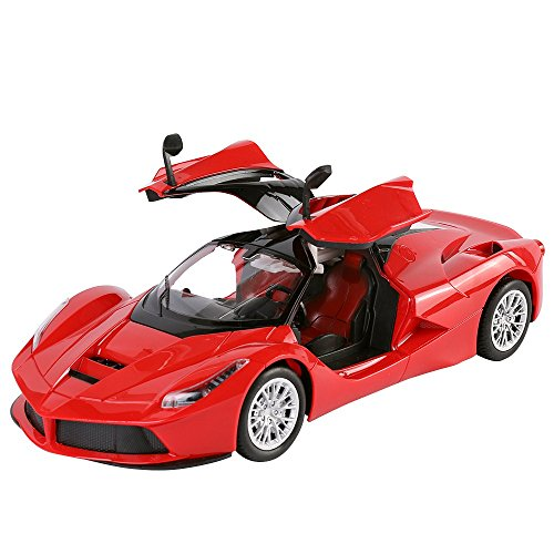 Speedy Red Remote Control Sport Car Convertibles Fast Furious Classic Race Scale 1:14 (Bmw Convertible Toy Car)