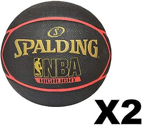 Amazon.com: Spalding Highlight - Juego de 2 pelotas de ...