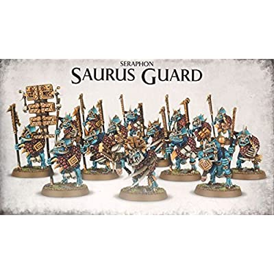 "Games Workshop 99120208016"" Seraphon Saurus Guard: Toys & Games"