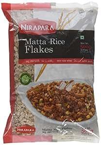 Amazon.com : Nirapara Rice Flakes (Matta) (500 gram