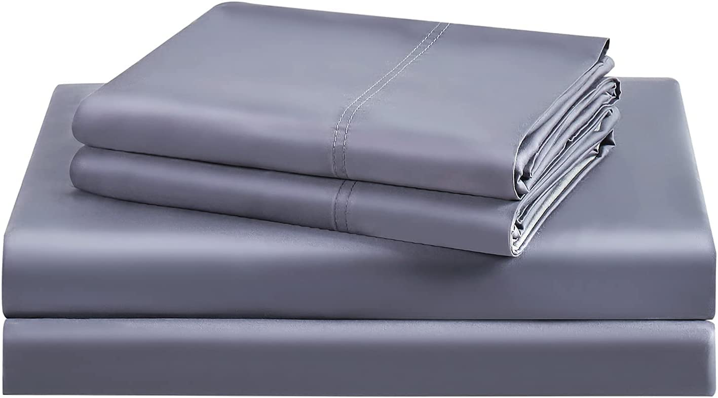 BEDELITE Luxury 100% Bamboo Portland Mall El Paso Mall King Size Sheets Sh Set Bed Cooling