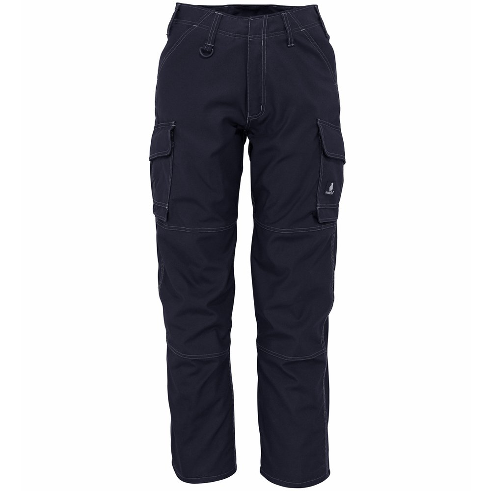 Mascot 10279-154-010-90C46 New Haven Service Trousers, L90cm/C46, Black/Blue