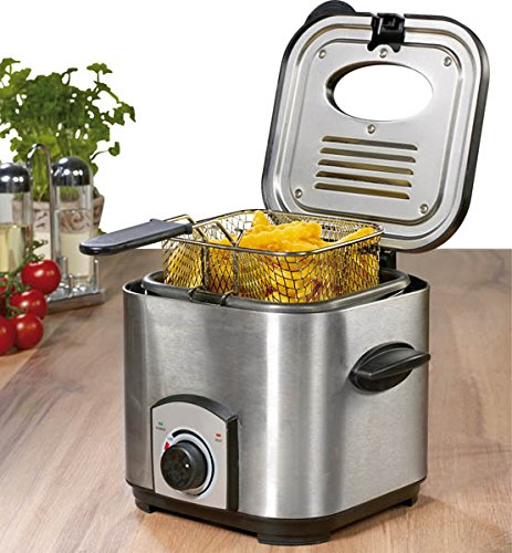 Mini Fritteuse/ Fondue Set, 1,2 Liter, 900 Watt