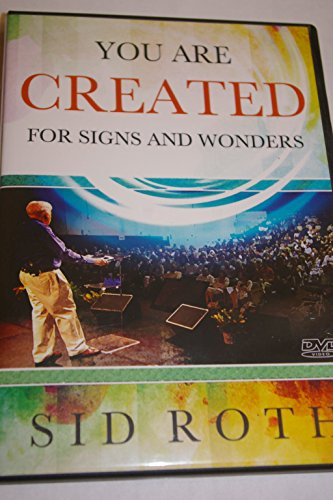 Sid Roth -- You Are Created For Signs And Wonders -- DVD (Brunswick Sign)