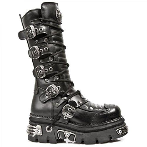 New Rock Laarzen M.985-c1 Gothic Hardrock Punk Unisex Stiefel Schwarz