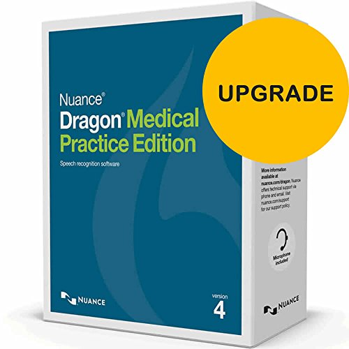 Dragon Medical Practice Edition 4 Upgrade for Windows (from Dragon Medical Practice Edition 2) ()