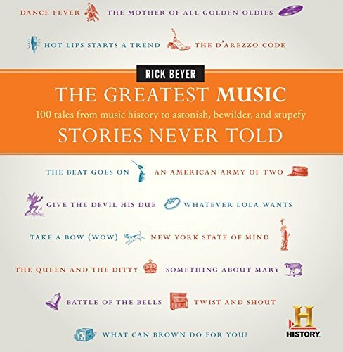 The Greatest Music Stories Never Told: 100 Tales from Music History to Astonish, Bewilder, and Stupefy (The Greatest Stories Never Told) by Beyer, Rick (2011) Hardcover