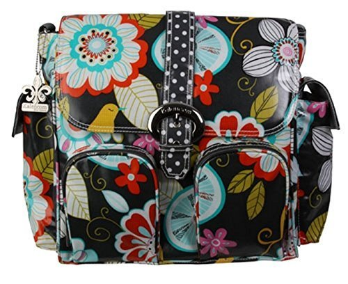 Kalencom Double Duty Coated Buckle Changing Bag (Tweet Birdie) by (Kalencom Coated Double Buckle Bag)