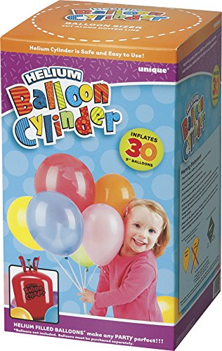 """-[ Small Disposable Helium Canister to fill 30 x 9"""" Helium Balloons  ]-"""