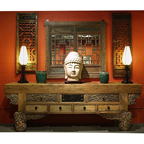 Imperial Elephant (China Furniture Online Elm Altar Table, Classic Imperial Court Design with Elephant Carvings)