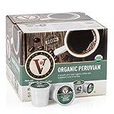 Victor Allen's Coffee K Cups, Organic Peruvian Single Serve Medium Roast Coffee, 42 Count, Keurig 2.0 Brewer Compatible