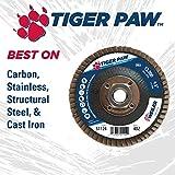 "Weiler 51124 4-1/2"" Tiger Paw Abrasive Flap"
