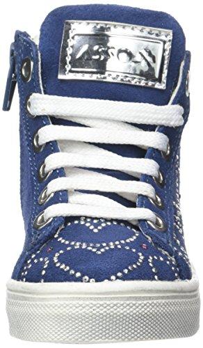 Asso Sneaker, Zapatillas Altas Niñas Bleu (ming)