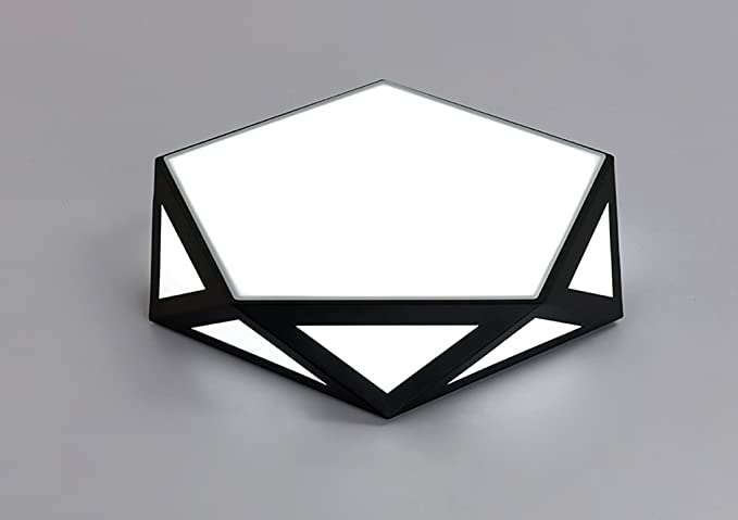 Plafoniere Da Interno Classiche : Zhdc lampade da soffitto geometria letto