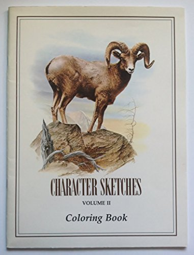 Character Sketches, Volume II, Coloring Book (Character Sketches Volume 2)