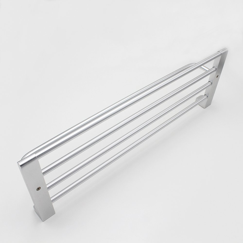 BOEN A1011 Bathroom 24-Inch Double Towel Bar//Shelf Wall Mount SOLID Aluminum