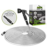 Best Hose 100 Feet Extra Durables - BOSNELL 100FT Garden Hose, 304 Stainless Steel Hose Review
