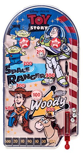 - Pixar Disney Toy Story Classic Tin Pinball Game