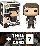 Funko Bran Stark POP! x Game of Thrones Vinyl Figure + 1 Free Official Game of Thrones Trading Card Bundle (12332)