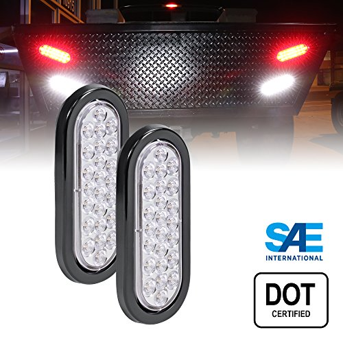 6 Inch Oval Led Reverse Lights