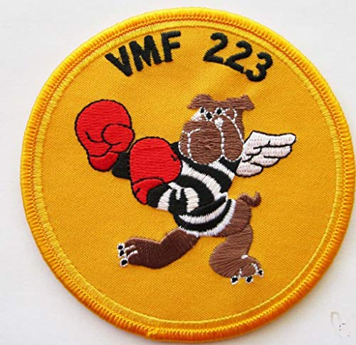 - VMF-223 Squadron Patch - Plastic Backing