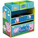 Delta Children Multi-Bin Toy Organizer Peppa Pig