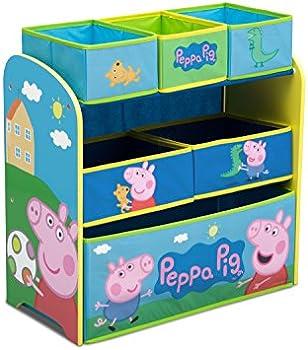 Delta Children Multi-Bin Toy Organizer Peppa Pig