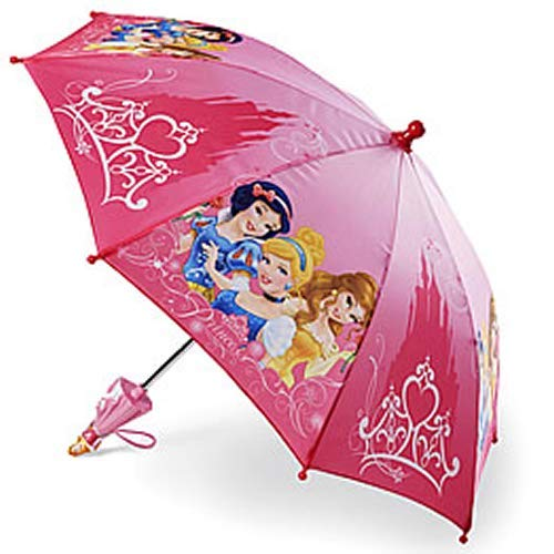 Princess Umbrella (Disney Girls Princess Umbrella w/ 3D Handle (Pink))