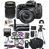 Canon EOS Rebel T6S Digital SLR Camera w/ EF-S 18-135mm STM Bundle includes Camera, Lenses, Filters, Bag, Memory Cards, Remote, Power Grip, Tripod ,and More - International Version
