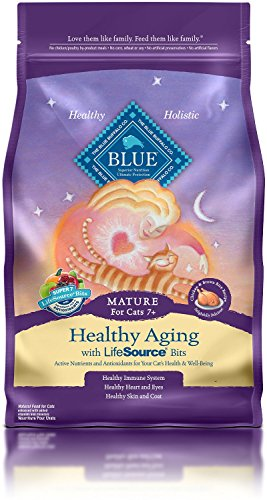 3 LB, High-Quality Protein Chicken Healthy Aging Mature Cat Food - Blue Healthy Aging Cat Food