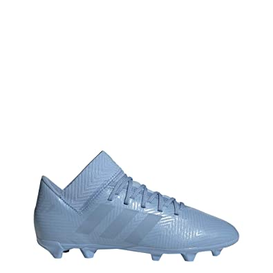 d3aaff75a adidas Nemeziz Messi 18.3 FG Cleat - Kid s Soccer 1 Ash Blue Raw Grey