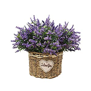 1 Bunch Foam Flower Lavender Artificial Flower Bouquet for Home Wedding Decoration Fake Flower Party Birthday Decor 33