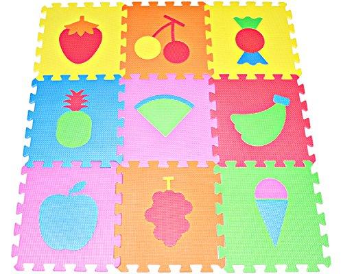 Poco Divo Kids Play Mat Multi Color Puzzle Excise Mat Eva