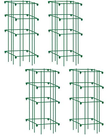 Lifetime Tomato Cages, Heavy Gauge, Set of 4
