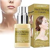 Neck Firming Cream, Neck Tightening Cream, Anti Aging Neck Moisturizer Cream for Lifting Double Chin, Sagging & Crepe Skin
