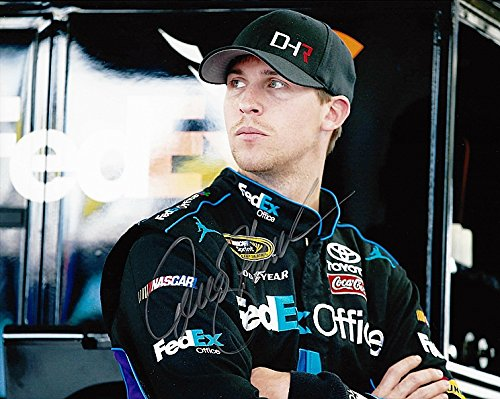 autographed-2014-denny-hamlin-11-fedex-office-racing-pre-race-gibbs-team-signed-8x10-nascar-glossy-p